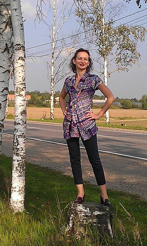 Блуза повседневная обыкновенная