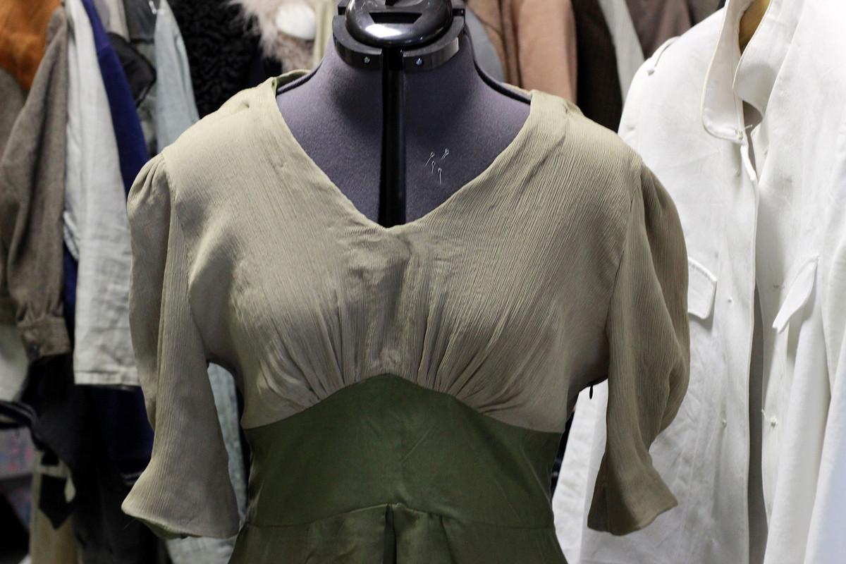 1940-е. Платье