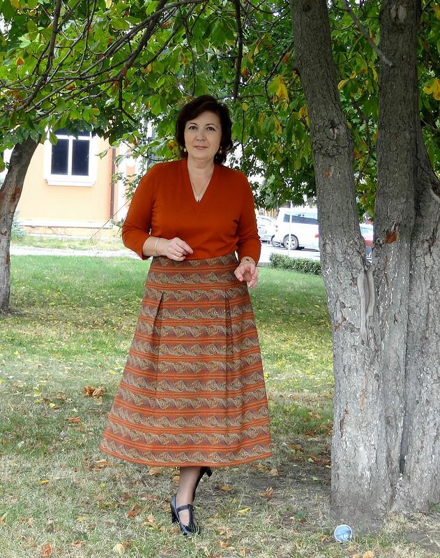 «Гобеленовая» юбка