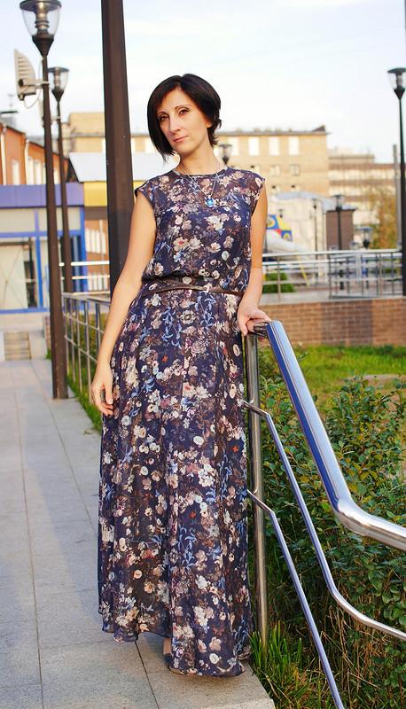 Платье для«бабьего лета».