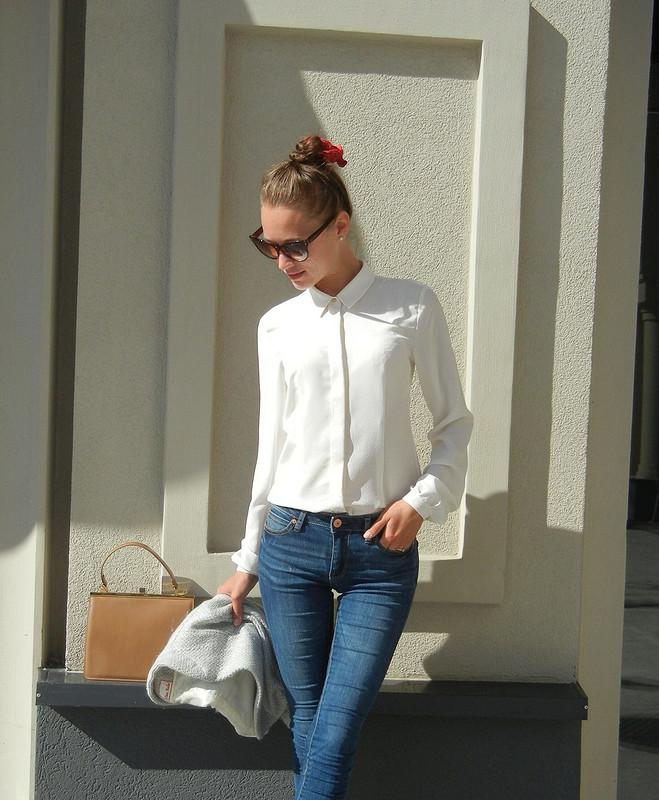 Шелковая блузочка