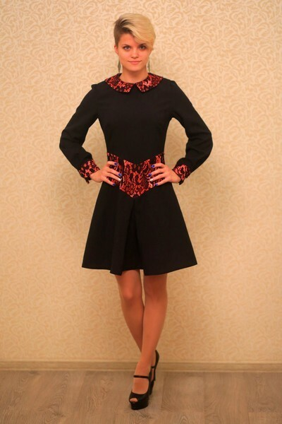 «Ученическое» платье