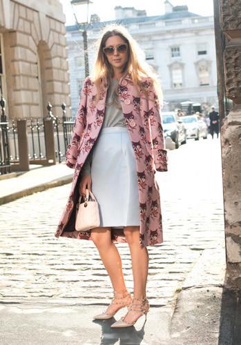 Street style: лучшее сLondon Fashion Week