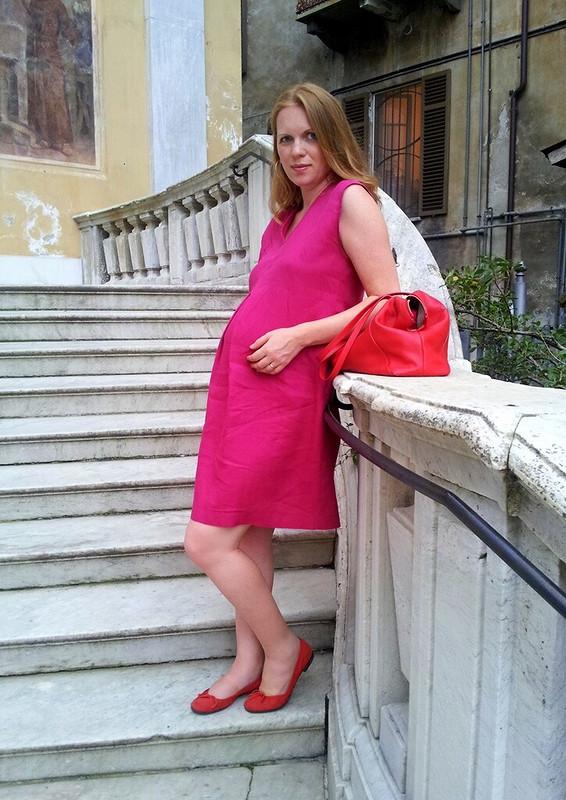 Еще одно беременное платье