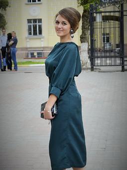 Работа с названием моё выпускное платье