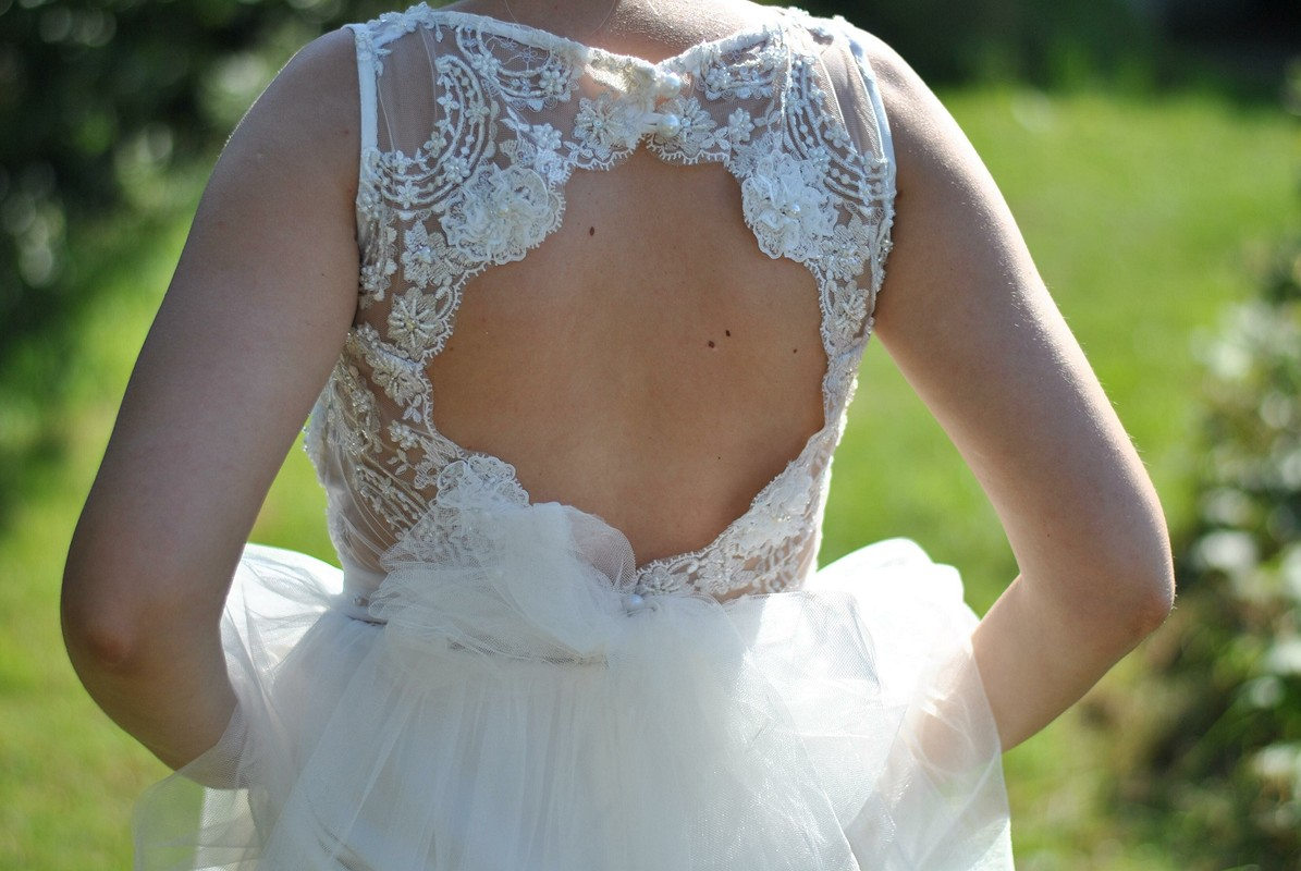 Свадебное платье сентября