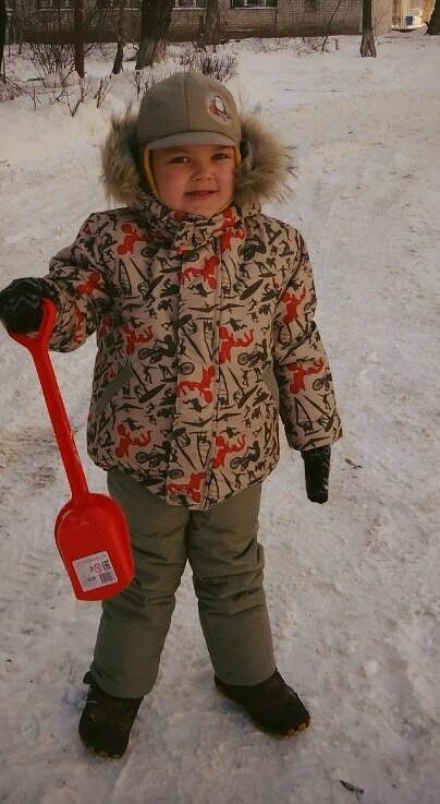 Зимние куртка ибрюки длясына