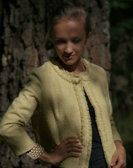 Жакет а-ля Chanel. Урок 4