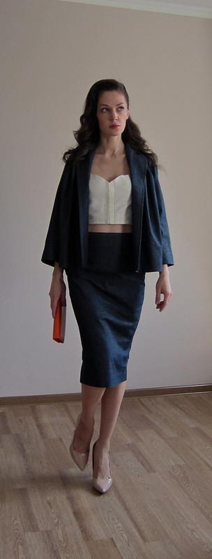 Джинсовый костюм весна 2013