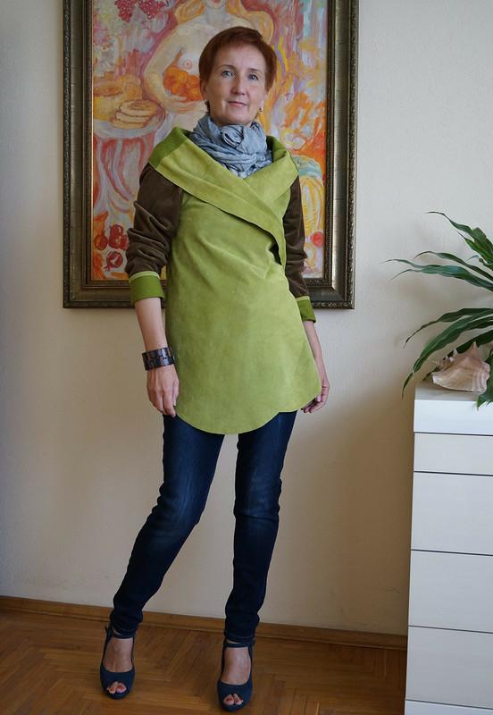 Жакет «Свежая зелень»