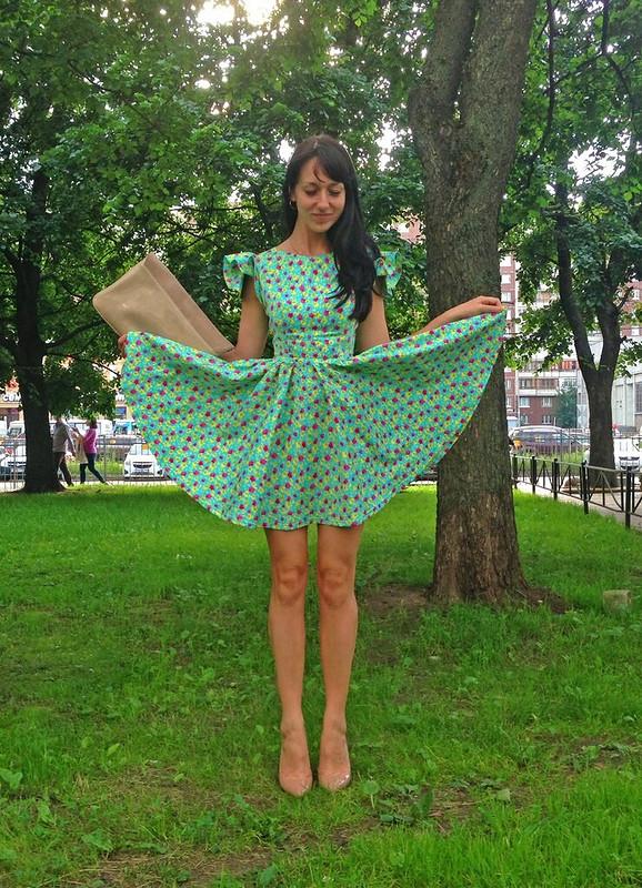 Экспериментальное платье