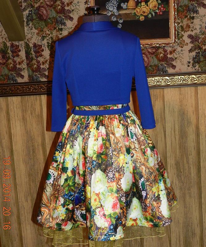 Платье-бюстье длядевочки