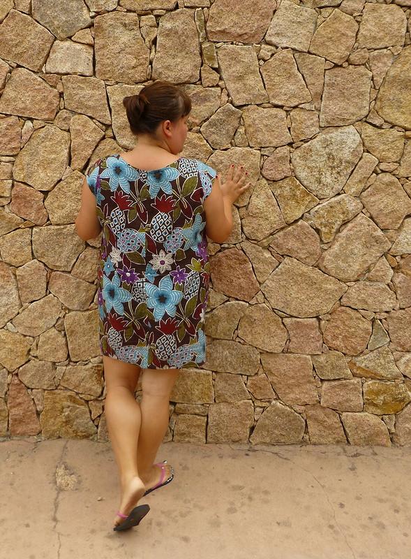 Ананасовое платье
