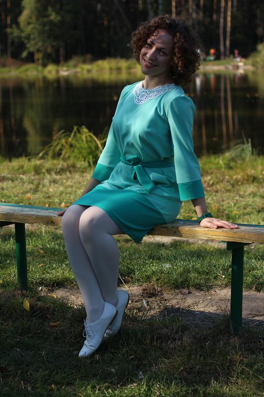 Кружевной воротничок сментолом )))