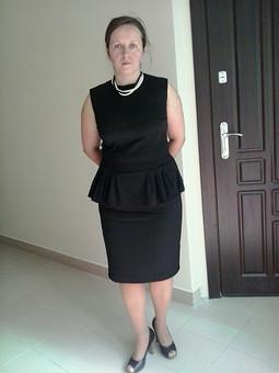 Работа с названием Платье на пробу