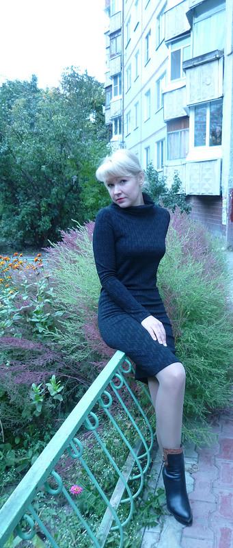 Черный хомут...платье