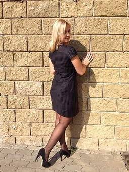 Работа с названием Моё маленькое черное платье ))))