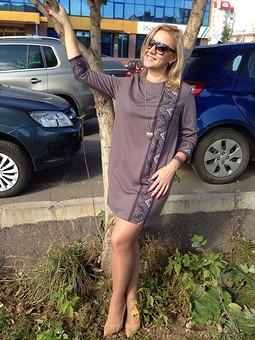 Работа с названием Мое уютное.... мини-платье))))