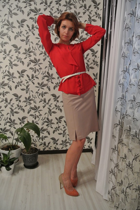 Еще одна юбка-карандаш