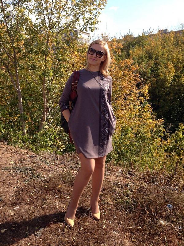 Мое уютное.... мини-платье))))