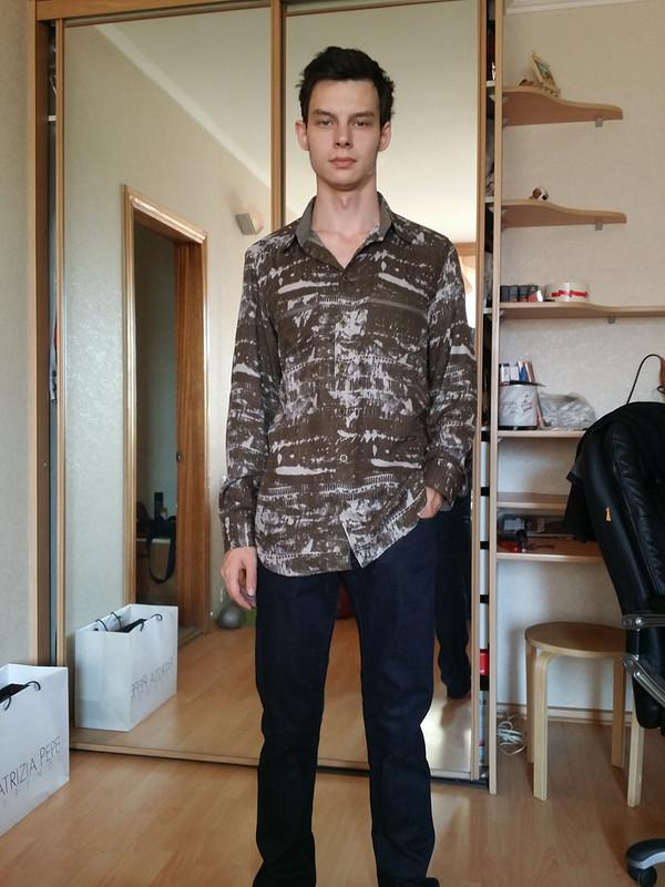 Первая мужская рубашка
