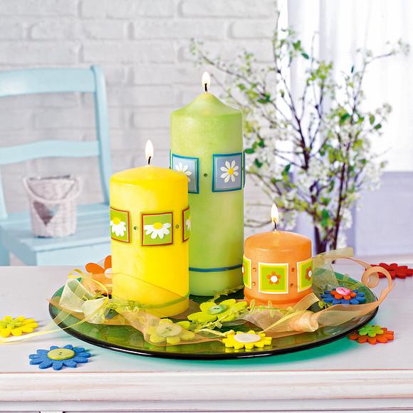 Цветочный декор длястола