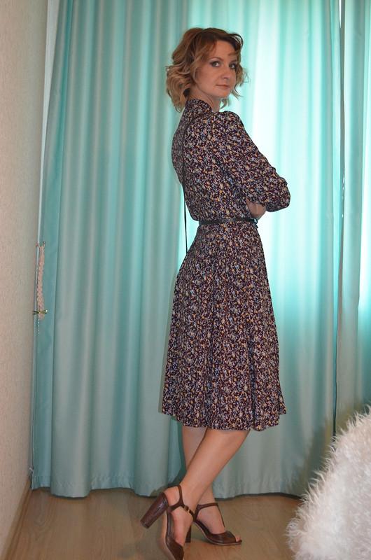 Платье вцветочек