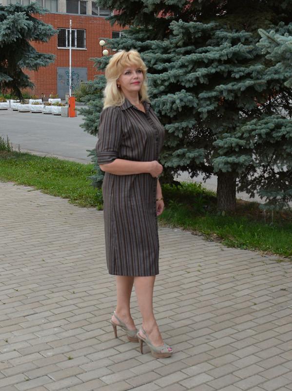 «Рабочее» платье.