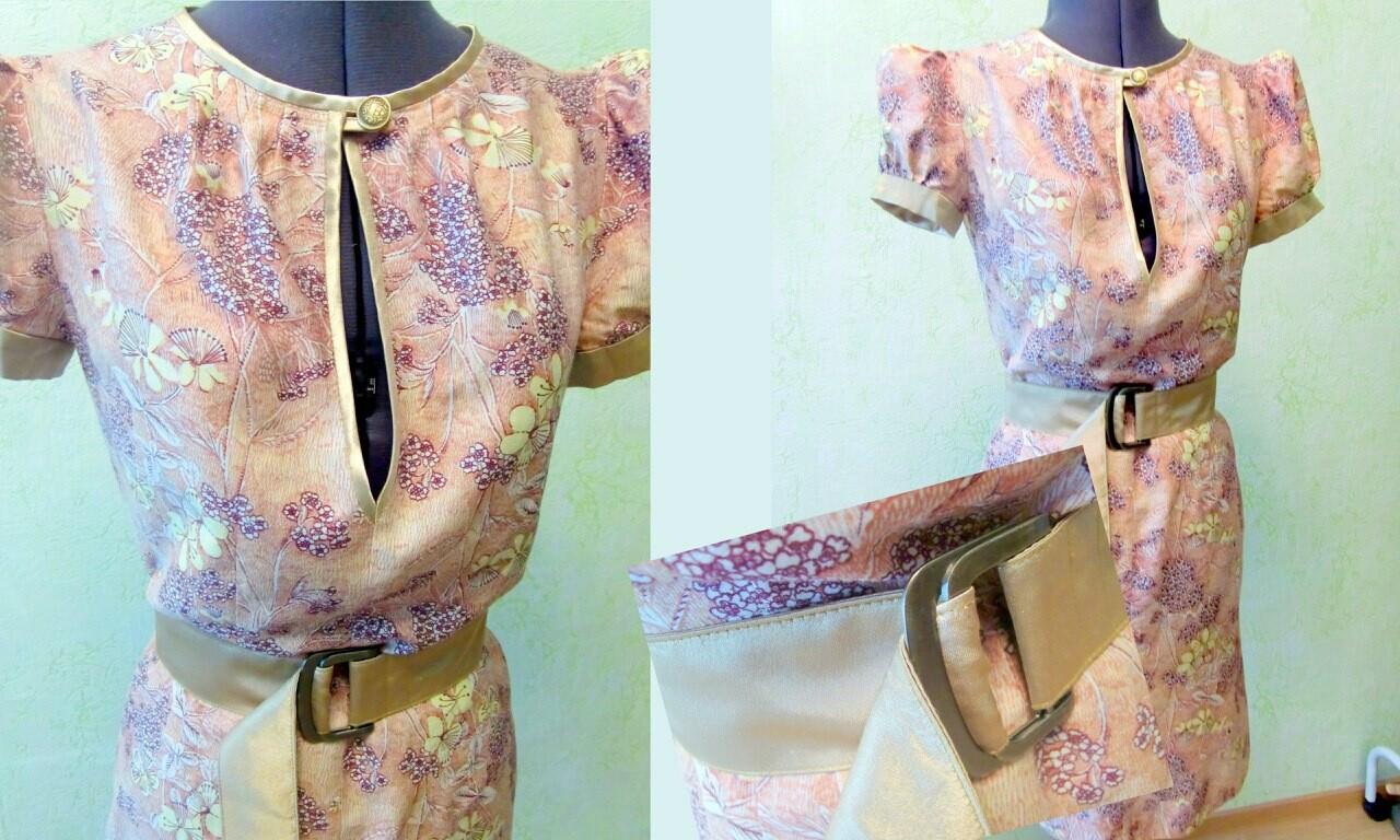 Платье от ton4a