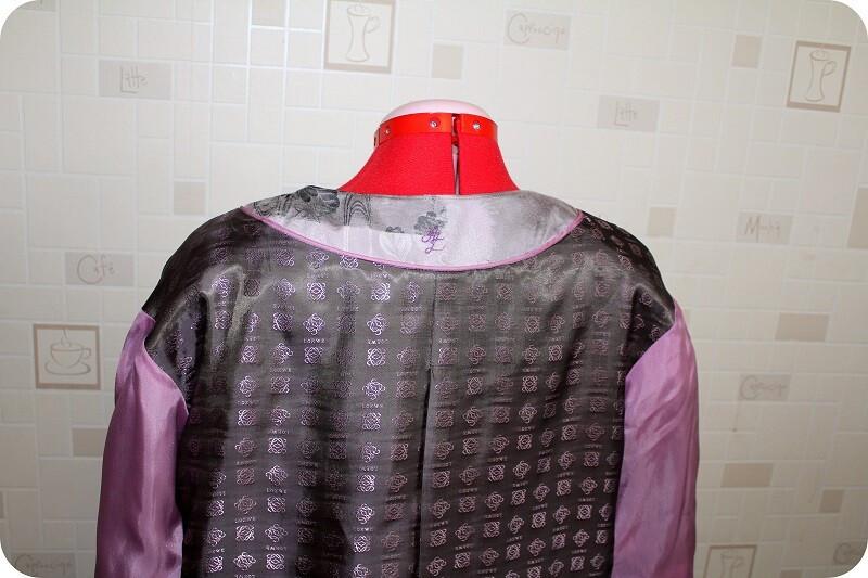 Перламутровое пальто