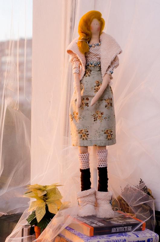 Осенняя девочка