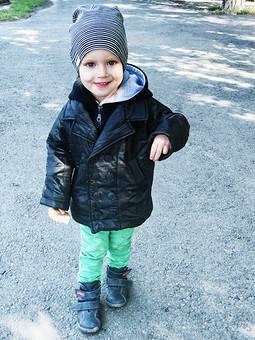 Работа с названием Детская куртка