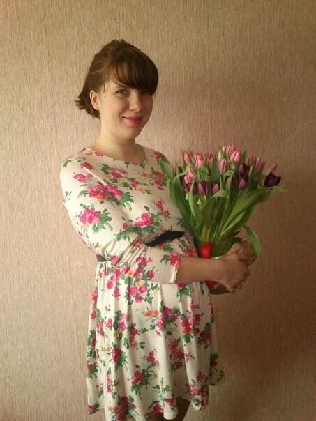 весеннее платье от Zve_zdo_chka