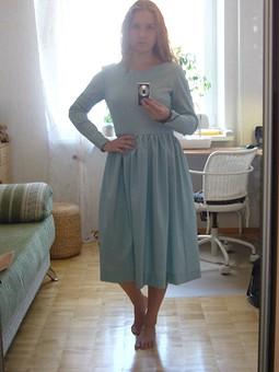 Работа с названием Шерстяной бриз - Платье
