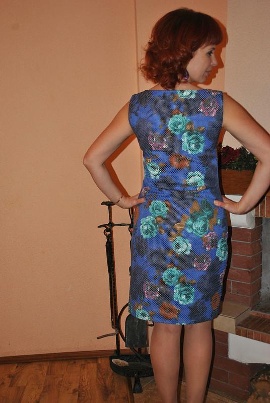Платье -футляр