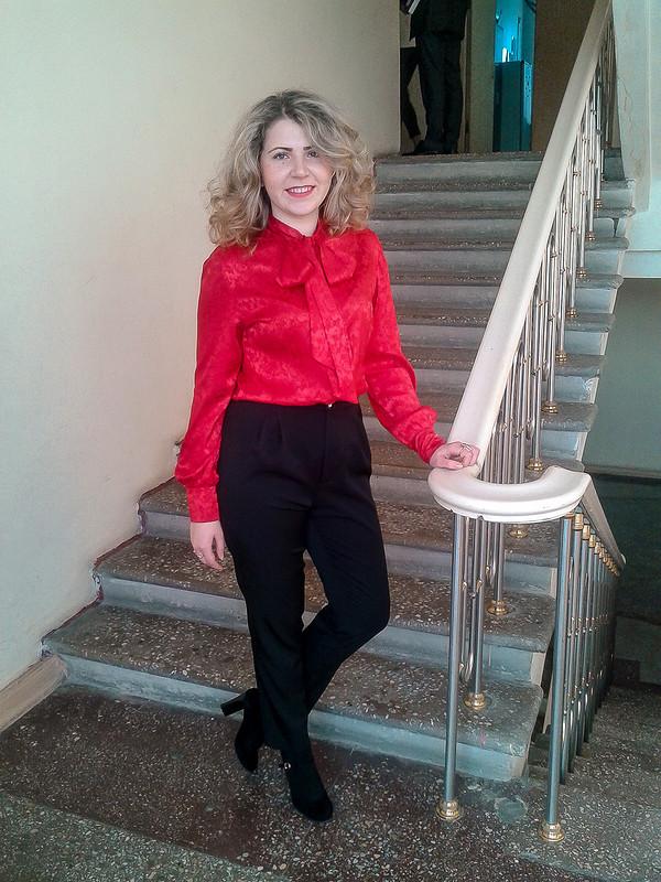 Блуза ибрючки от Koreshok132
