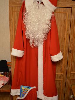 Работа с названием Костюм Деда Мороза