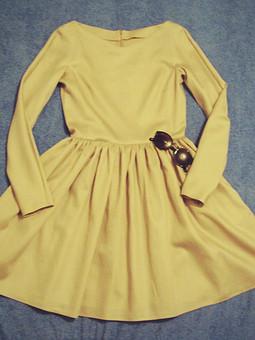 Работа с названием Сатиновое платье