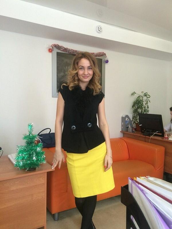 Лимонная юбка