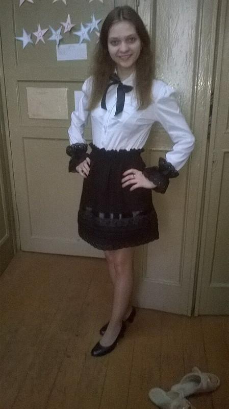 юбка иманжеты от ElenaPetrovets