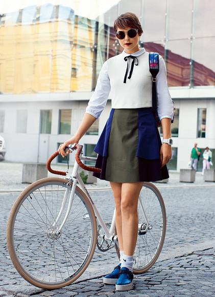 Расклешенная юбка – шьем шаг зашагом
