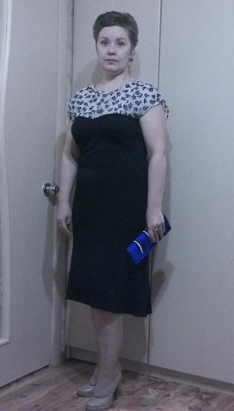 Платье дляновогоднего праздника.