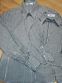 Работа с названием Первый опыт пошива мужских рубашек или Family look для любимых)