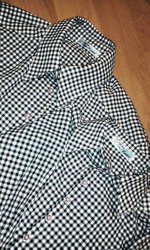 Первый опыт пошива мужских рубашек или Family look длялюбимых) от Ololo