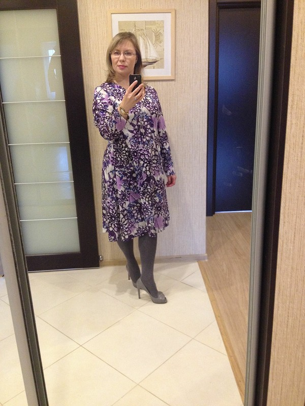 Платье - эксперимент