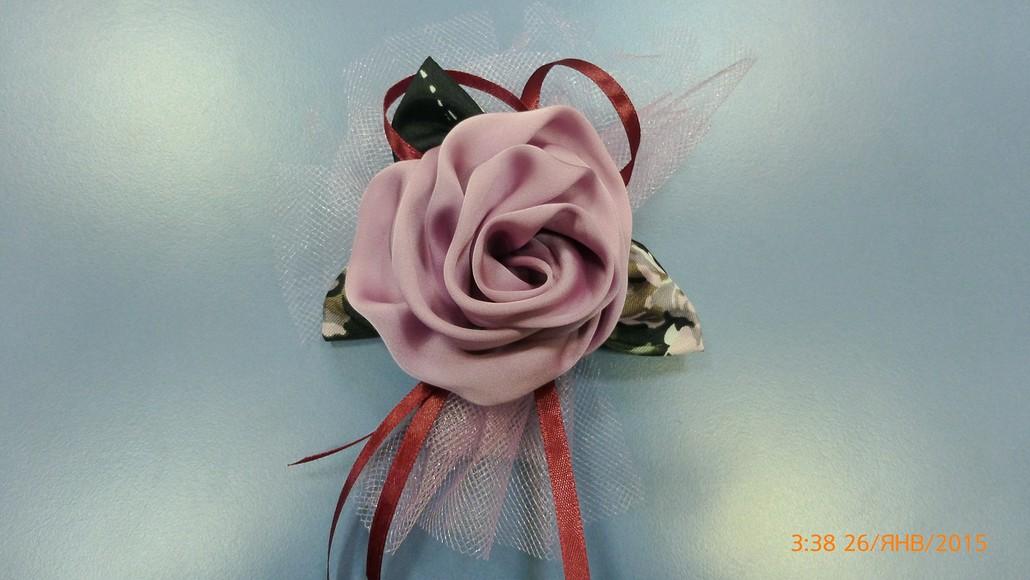 Роза изткани