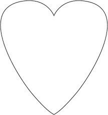 Сердечки изткани