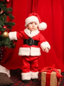 Работа с названием Костюм Санта Клауса для малыша