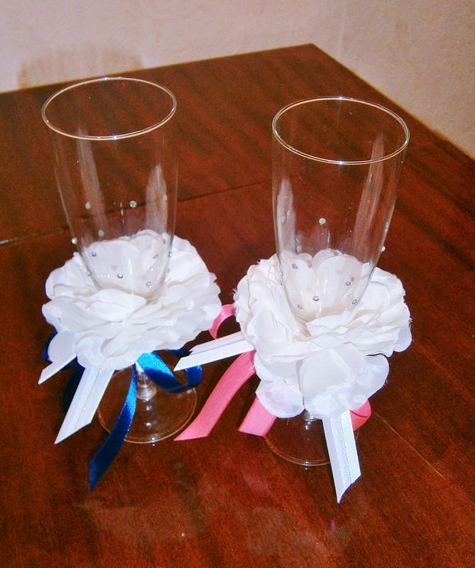 Свадебные бокалы от Ирина Буранова