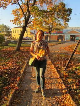 Работа с названием Золотая осень